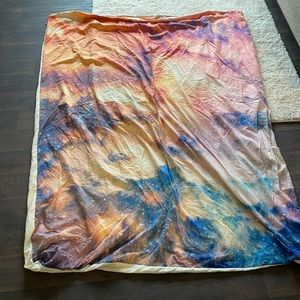 Galaxy duvet for queen or smaller comforter